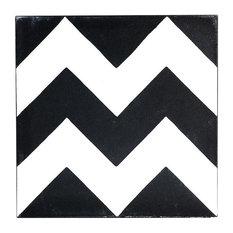 Chevron Cement Tile, Sample