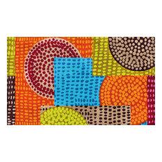 Ethno Pop Door Mat, 120x70 cm
