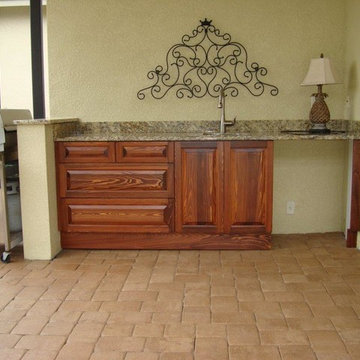 Custom Outdoor Kitchen Cabinetry, Fort Myers, FL