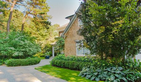 Tour a Romantic Cottage-Style Landscape in the Hamptons