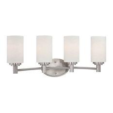 Thomas Lighting 190025 4 Light Bathroom Fixture - Nickel