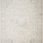 """Ivory Blue Griffin Area Rug by Loloi, 7'6""""x10'5"""""""