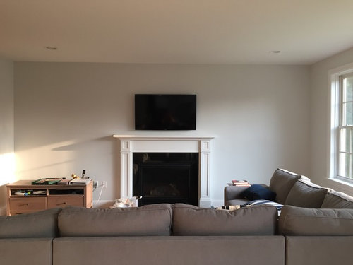 Fireplaces With Shelves Built Ins Fireplace On Each Side Diy