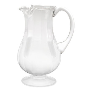 Pebbles Glass Pitcher Smoke 11 Contemporary Pitchers By Hg Global