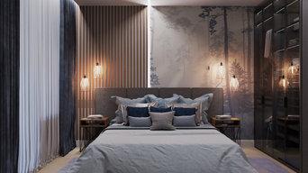 Дизайн проект 2х-комнатной квартиры в современном стиле
