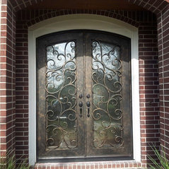 Exceptional Houston, TX. Wrought Iron Front Doors