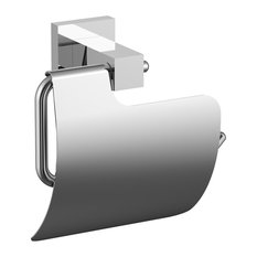 Eviva Toilet Paper Holder, Brushed Nickel