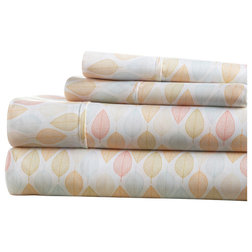 Contemporary Sheet And Pillowcase Sets by iEnjoy Home