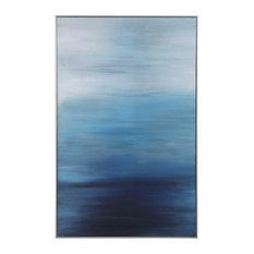Uttermost 31418 Uttermost Moonlit Sea Hand Painted Canvas