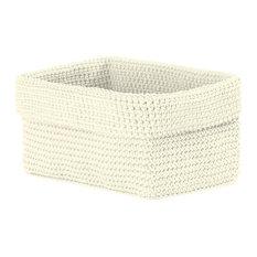 """Mode Crochet 8""""x5""""x6"""" Rectangle Bskt"""