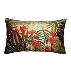 Pillow Decor - Jungle of Ferns 12 x 20 Throw Pillow