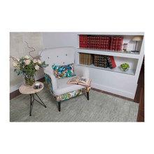 Cómo decorar una salita de lectura con una buena alfombra