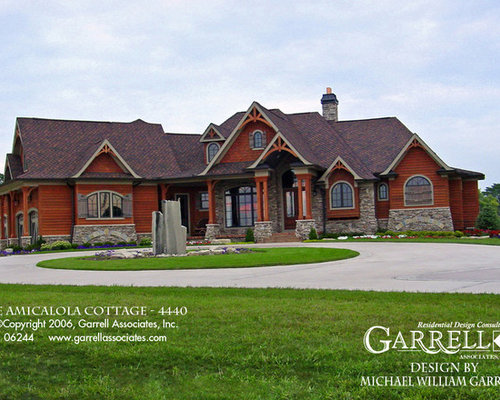 Exterior of Craftsman Style House Plans