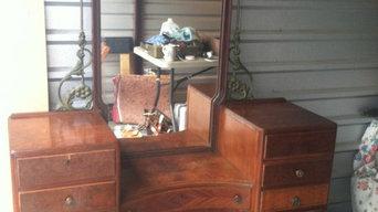 Antique Vanity/Secretary 1920s-unique