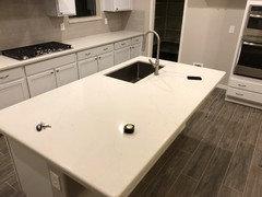 Has anyone installed Arizona Tile New Carrara Quartz?