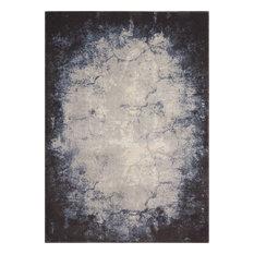 """Maxell Ivory/Gray Rug, 5'3""""x7'3"""" Area"""