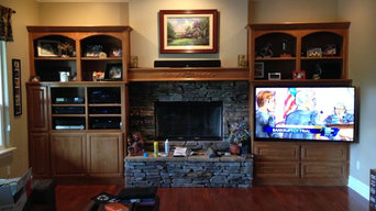 TV cabinet wall mount