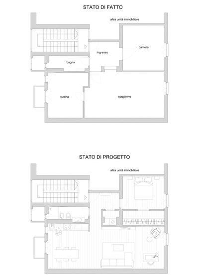 Planimetria by Gruppo Tre Architetti