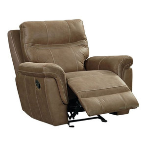 Colson Recliner Manual Glider Transitional Recliner