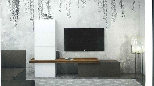 Parete Dietro Divano Grigio : Di che colore la parete dietro parete tv