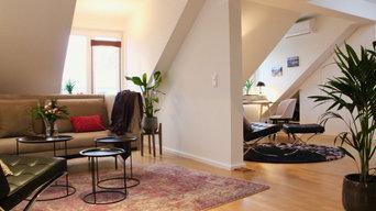 Neugestaltung Dachgeschoßloftwohnung