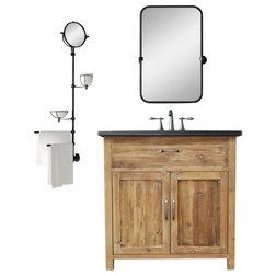 Rustic Bathroom Vanities And Sink Consoles by BathGems