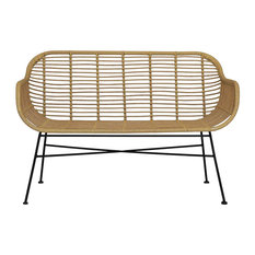 Hampstead All-Weather Bamboo Bench