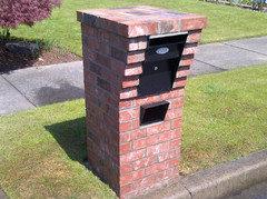 Lake Oswego Brick Mailbox Traditional Landscape