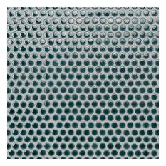 "SomerTile 12""x12.63"" Penny Porcelain Mosaic Tile, Case of 10, Pine"