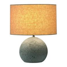 SLV   Soprana Solid TL 1 1 Light Table Lamp, Concrete Gray Finish