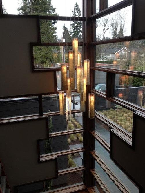 Contemporary Foyer Pendant Lighting : Contemporary foyer lighting modern entry chandelier for