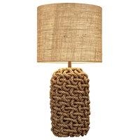 "Cebu Rope Lamp, 9x9"""