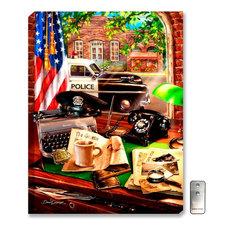 Hometown Hero Law Enforcement Wall Art