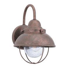 1-Light Wall Lantern Weathered Copper