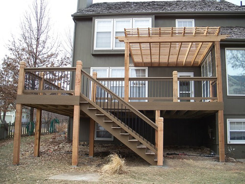 Delicieux Iu0027ve Gotten A Quote For Putting A Pergola With Retractable Canopy Covering  Half Of The Back Deck. The Overall Effect Will Be Like This (not My House,  ...