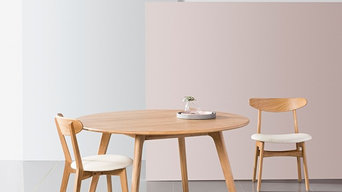 Magnus Round Dining Table - Solid Oak - 130cm Diameter