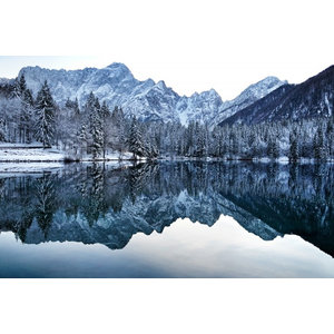 """Mirror Lake"" Photo Print, Art Poster, 100x70 cm"