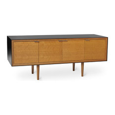 May Credenza, Fumed White Oak