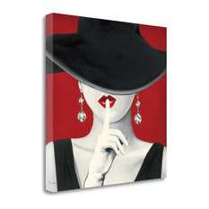 """""""Haute Chapeau Rouge I"""" By Marco Fabiano, Giclee Print on Gallery Wrap Canvas"""