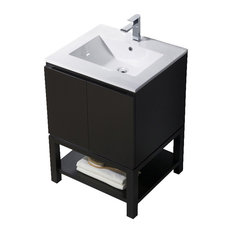 Vanity Emmet 25 With  Integrated White Porcelain Espresso 24