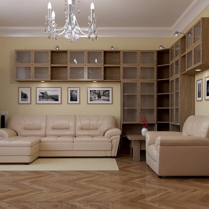 Квартира в стиле контемпорари, Москва