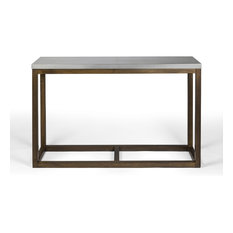 Sterling Rustic Wood and Metal Console Table