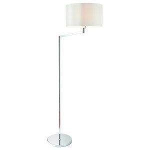 Evelyn Swing Arm 60 W Floor Lamp