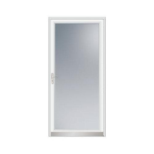 Full Light Storm Door And Door Color
