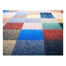 "Dean Flooring Company, LLC - 24""x24"" Random Assorted Color Commercial Carpet Tiles, 50-Piece Set - Carpet Tiles"