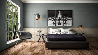Architekturvisualisierung Fotorealistische Innenraumvisualisierung Schlafzimmer