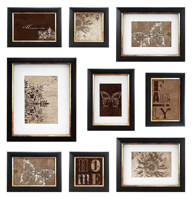 Mcs 49983 9 Piece Frame Set With Usable Artwork
