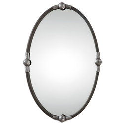 Industrial Wall Mirrors by Uttermost