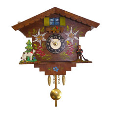 Engstler Battery-Operated Clock- Mini Size With Music/Chimes