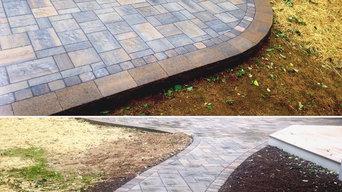 Patio / retaining wall / walkway
